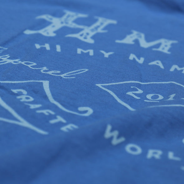 LABEL Tee Blue