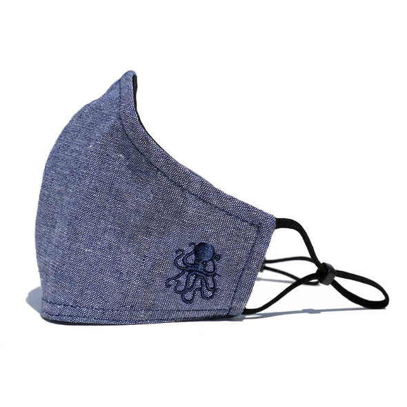 Octopus Face Mask (BLUE)