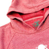 Kids Octopus Pullover Fleece POMEGRANATE