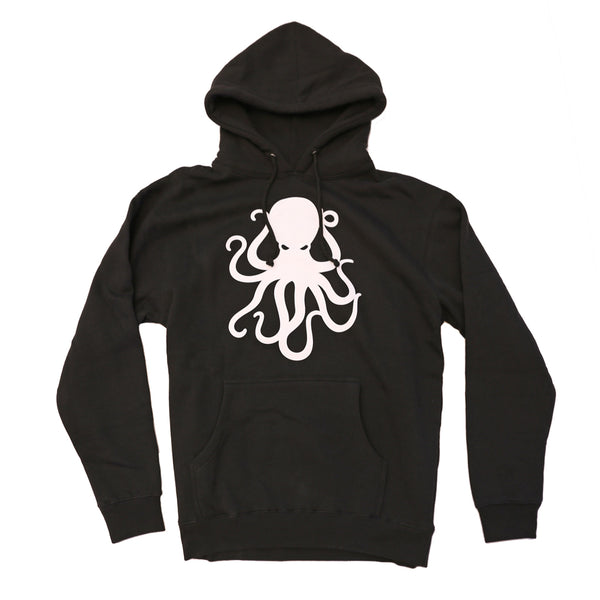 Octopus Pullover Fleece BLACK