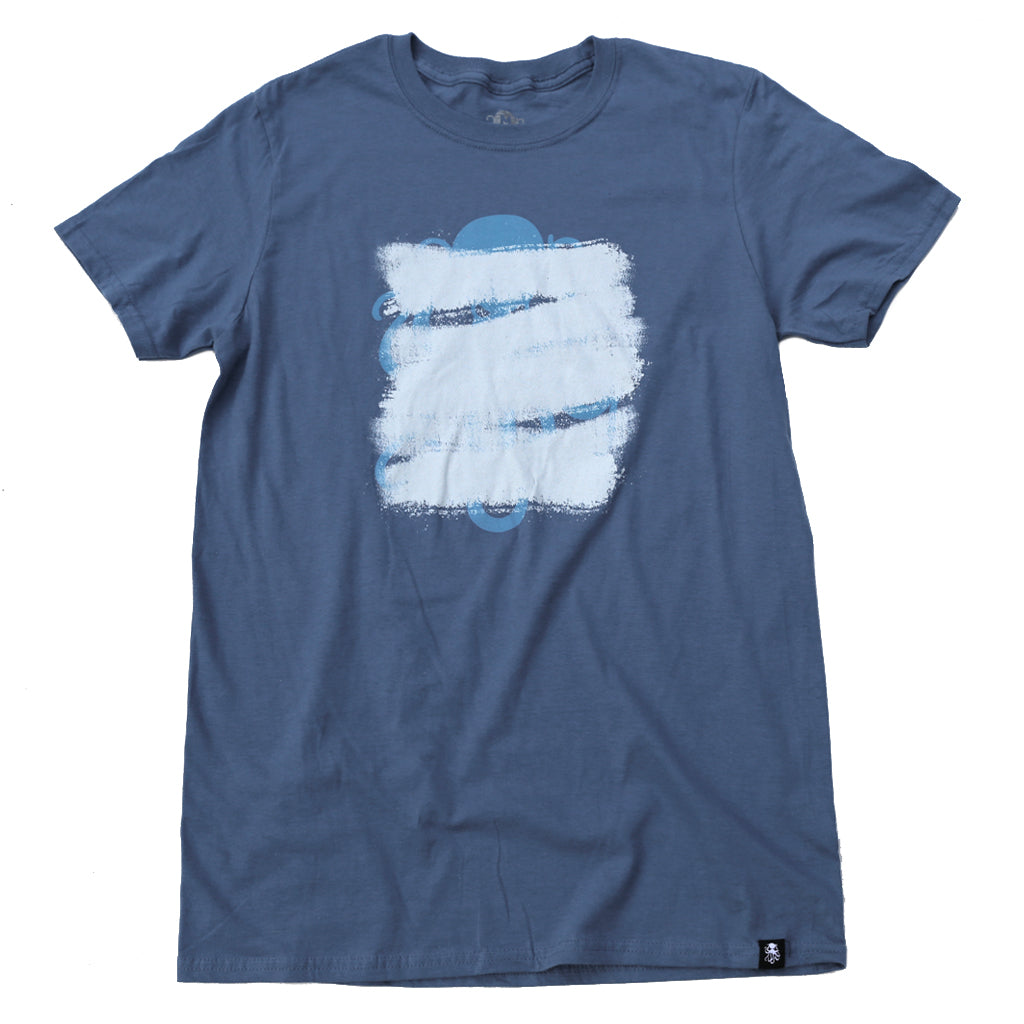 REDACTED Tee INDIGO BLUE