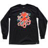 2D3D Long Sleeve Tee Black
