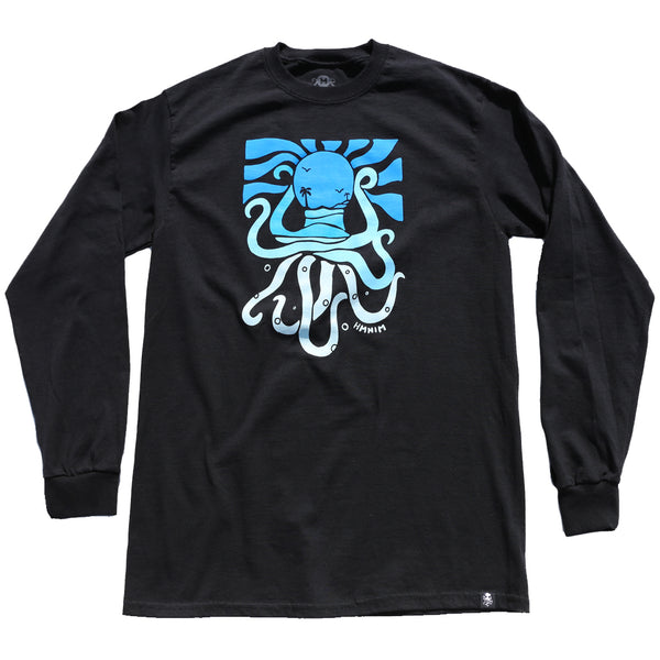RELAX2 Long Sleeve Tee Black (blue)