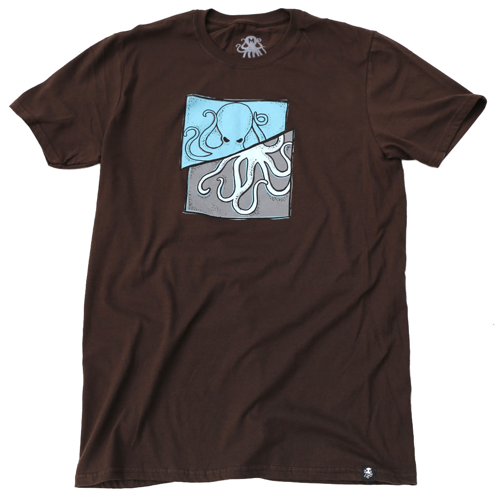 SLICE Tee Brown