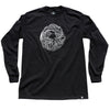 WAVE Long Sleeve Tee Black