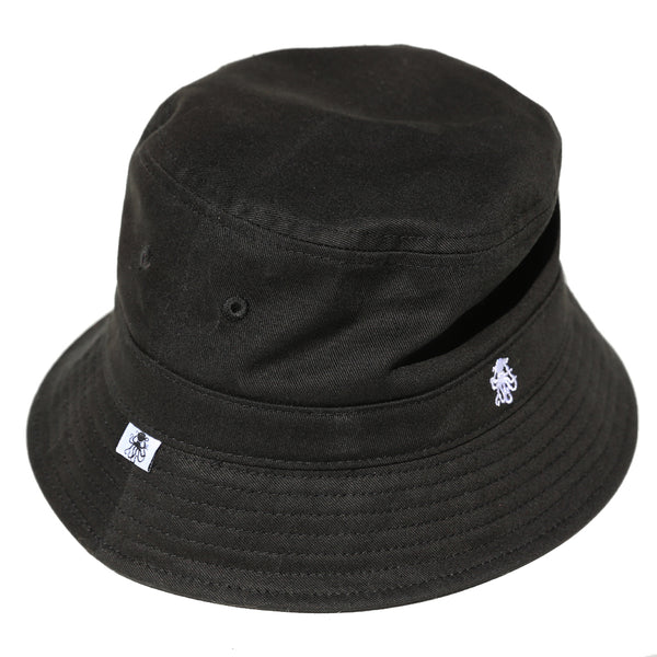 Octopus Black Bucket Hat