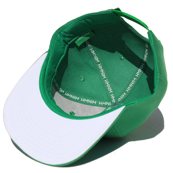 Octopus Green w/White - Snap Back