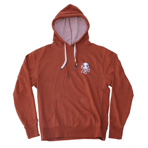 PULLIE Pullover Fleece ORANGE HEATHER
