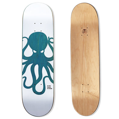 KNOCKOUT Octo Skateboard Deck (TEAL/BLUE)