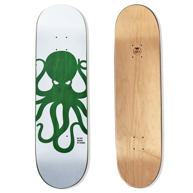 KNOCKOUT Octo Skateboard Deck (GREEN)