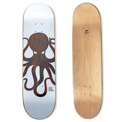KNOCKOUT Octo Skateboard Deck (BROWN)