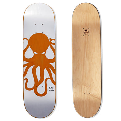 KNOCKOUT Octo Skateboard Deck (ORANGE)