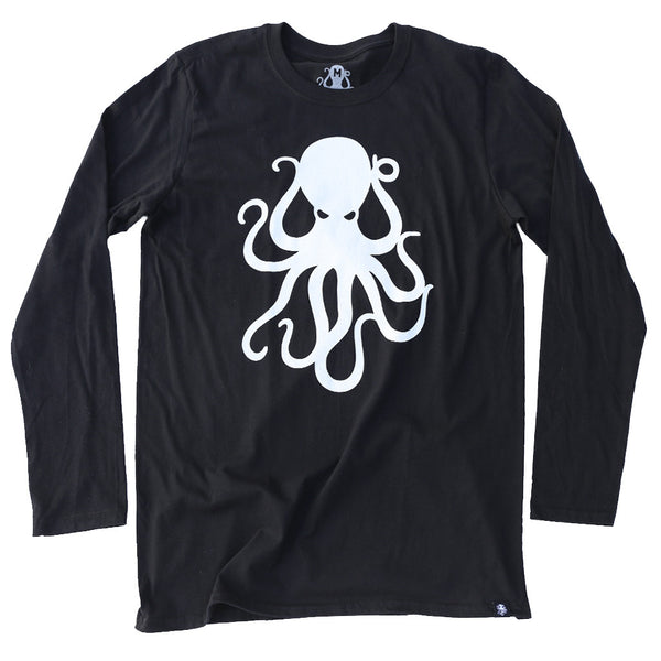 OCTOPUS Long Sleeve Tee Black