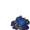 Octopus Enamel Pin - Blue