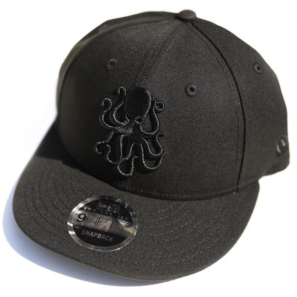 Octopus Black w/Black - New Era 9Fifty Snap Back