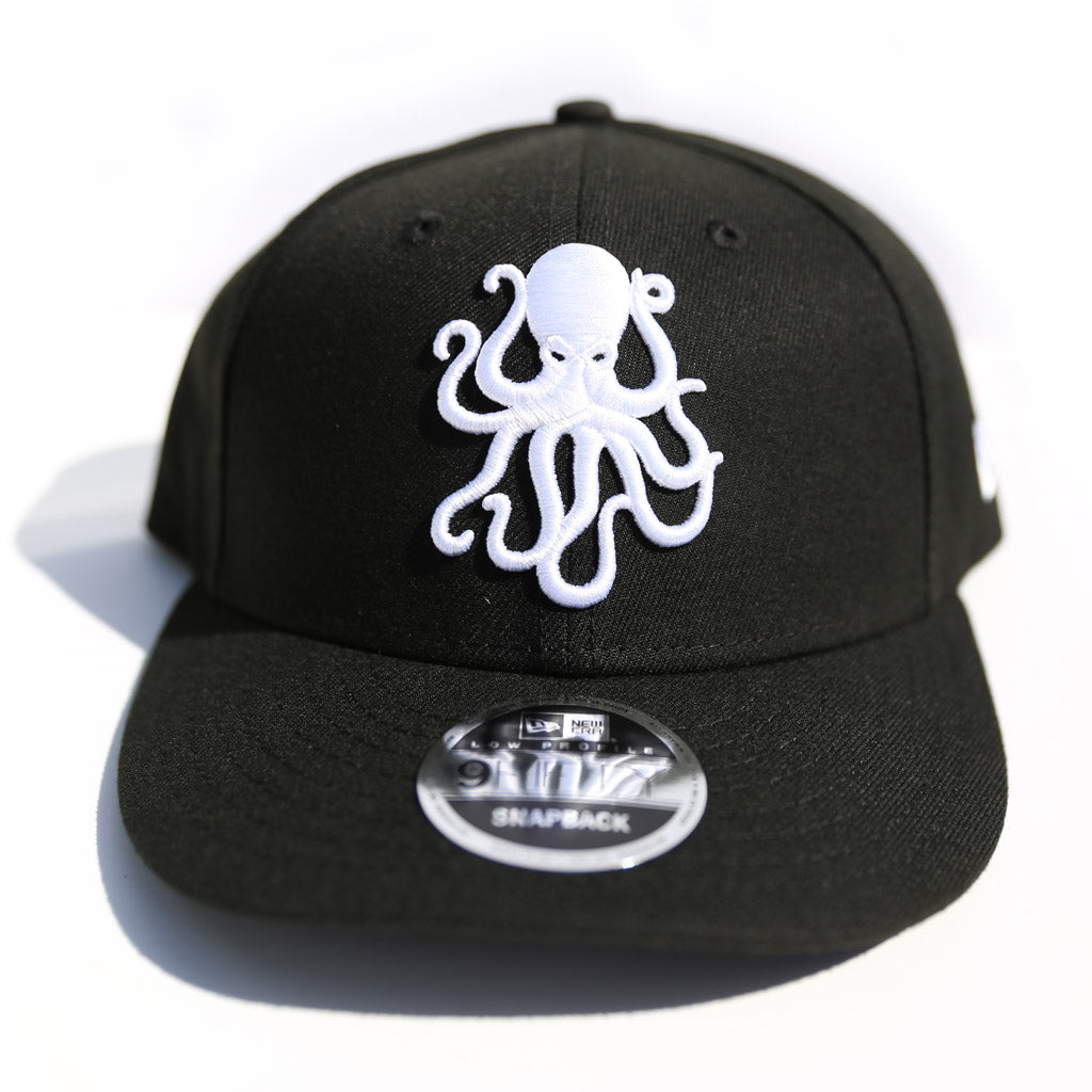 b6d4a14c502 Octopus Black w White - New Era 9Fifty Snap Back – Hi My Name is Mark