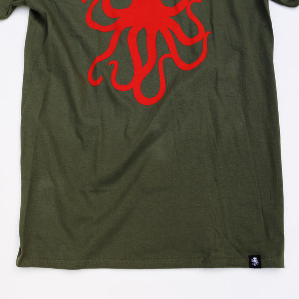 OCTOPUS Tee Military Green