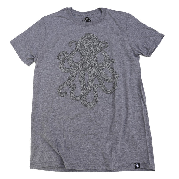 ROPES Tee Graphite Heather