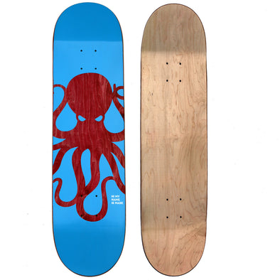 KNOCKOUT Octo Skateboard Deck (BLUE)