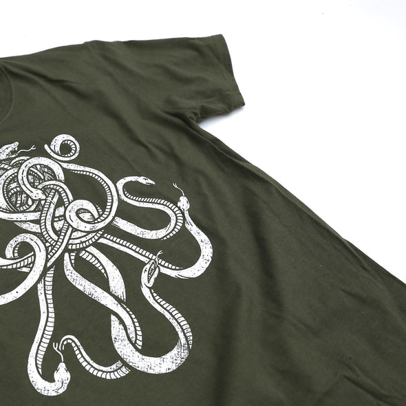 SNAKES Tee Military Green