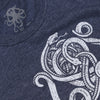 SNAKES Tee Heather Navy