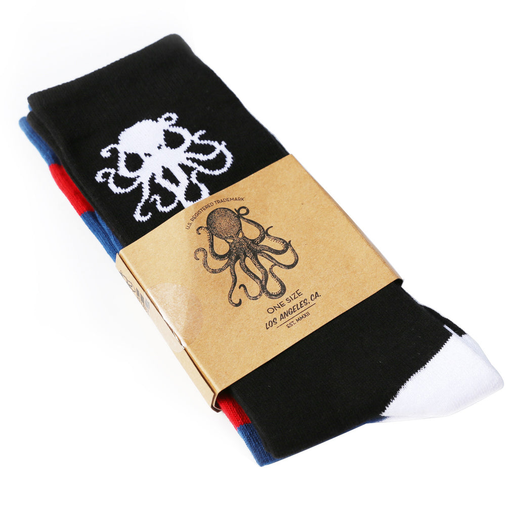 Two Pack Socks- BLUE/BLACK bundle
