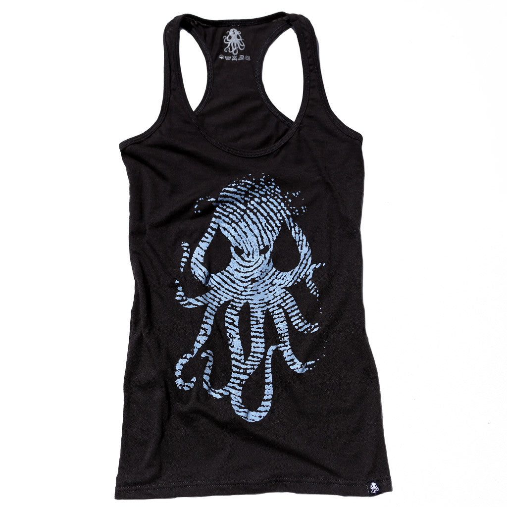 FINGERPRINT Women's tank BLACK