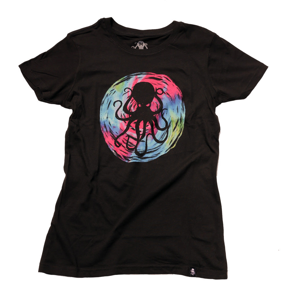 DYED Women's Tee BLACK