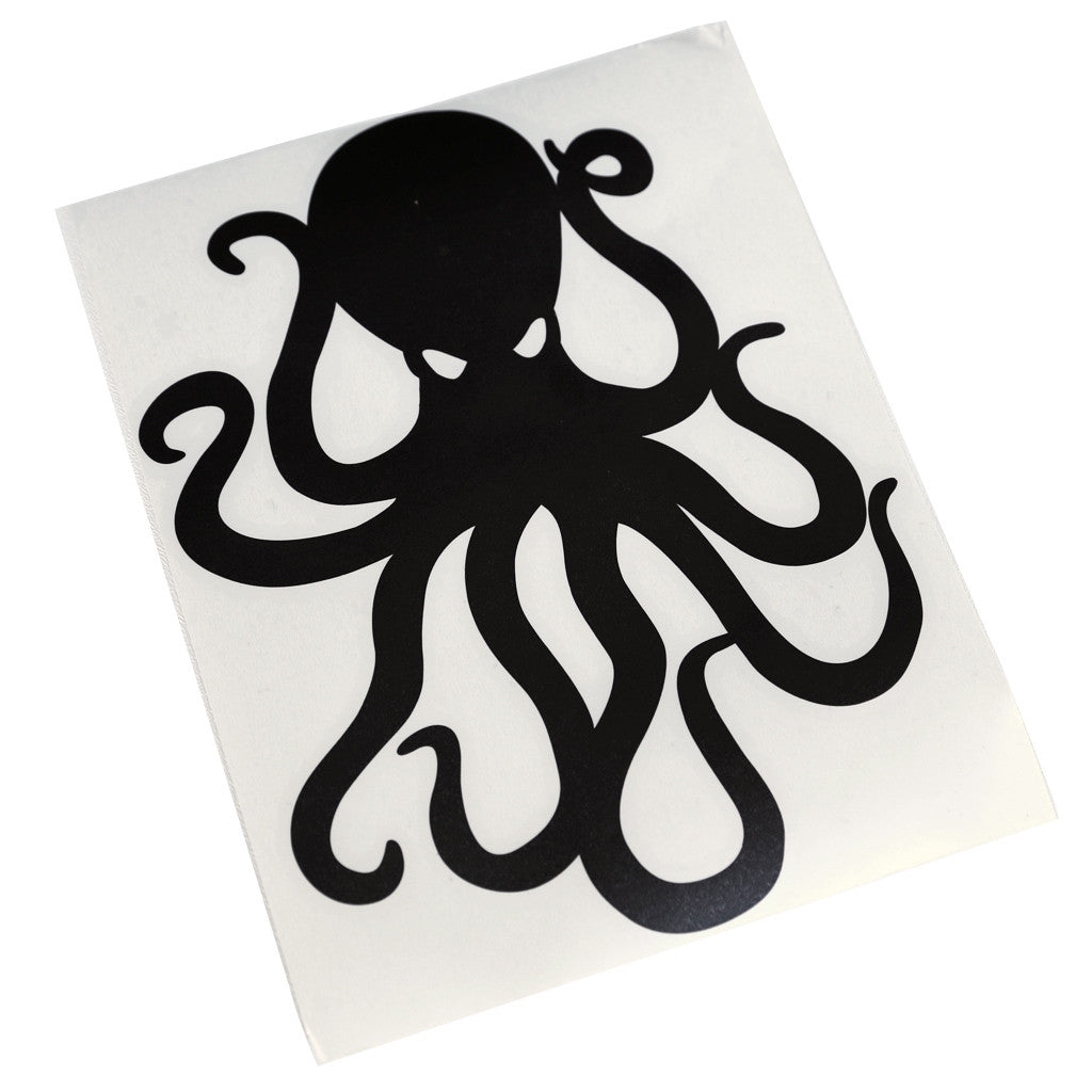 "8"" Vinyl Octopus Sticker"