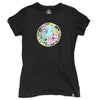 FLOWERS Women's Tee BLACK
