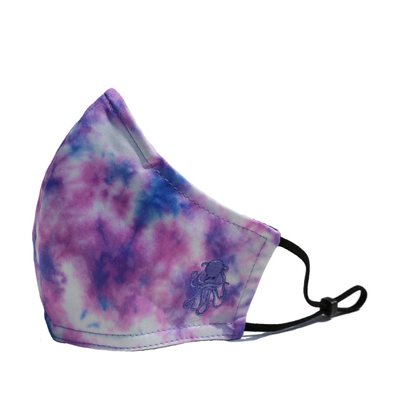 Octopus Tie Dye Face Mask (PINK)