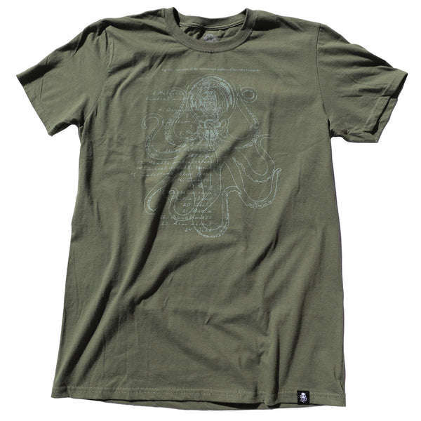 ANATOMY Tee Military Green
