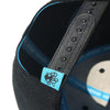 Octopus Black w/Blue - Snap Back