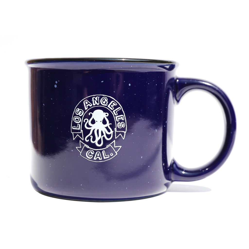 LACA Ceramic Navy Mug