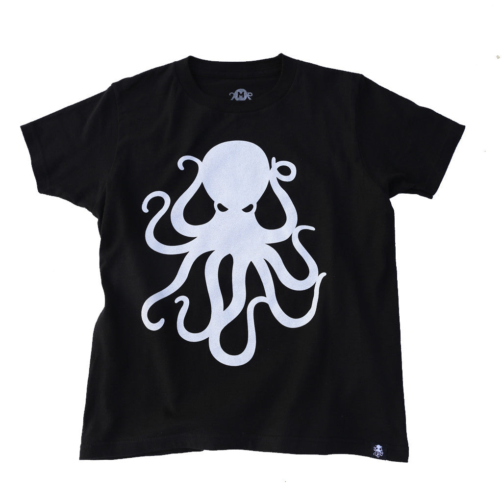 OCTOPUS Kid's Tee BLACK