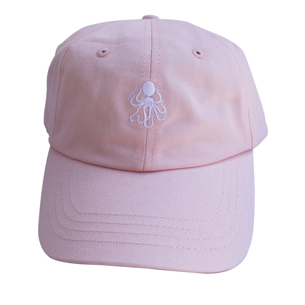Octopus Pink w/White - Dad Hat