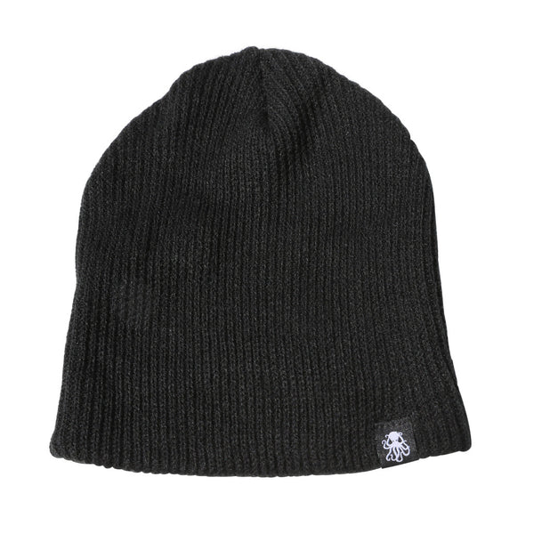 Octo Slouch Beanie BLACK