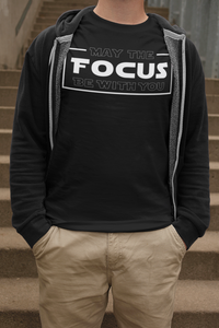 May The Focus Be With You Unisex Jersey Short Sleeve Tee