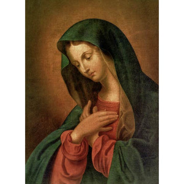 Mother Mary from Maria Treben 5 x 7