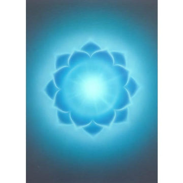 Throat Chakra 10 pack (laminated) wallet card