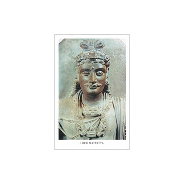 Maitreya Bronze Statue - Laminated Wallet Card