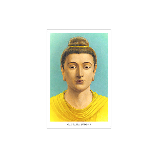 Gautama Buddha (laminated) wallet card