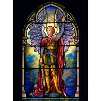 Archangel Michael by Tiffany 5 x 7