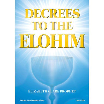 Decrees to the Elohim - CD