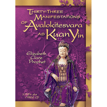 Thirty-Three Manifestations of Kuan Yin - DVD + CD - (DVD SET)