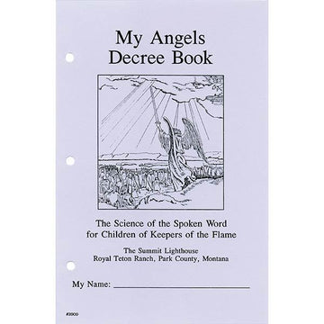 My Angels Decree Book-(Discontinued item)