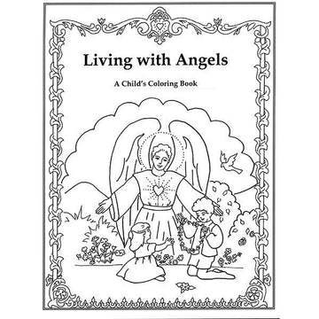 Living with Angels (Coloring Book)