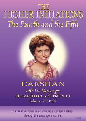 159The Higher Initiations • 4th and 5th (Darshan 14) - (DVD - VIDEO)