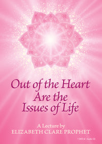 Out of the Heart Are the Issues of Life - (DVD - VIDEO)