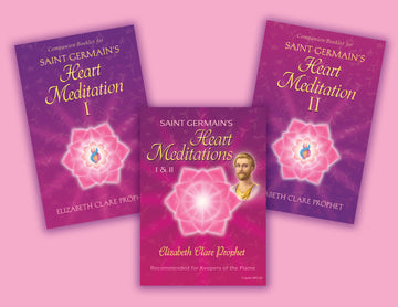 Saint Germain's Heart Meditations I & II AUDIO + Booklets